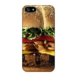 Hot Fashion KgPVyzk4143 Design Case Cover For Iphone 5/5s Protective Case (ham Burger)
