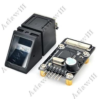 Lector de huella dactilar óptico/módulo de Sensor STM32 - negro: Amazon.es: Electrónica