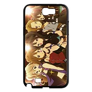 Designer Samsung Case Gdragonhighfive Cell Phone Case Cover K-On Chibi Girl Band Members for Samsung Galaxy Note 2 N7100 Case Cover