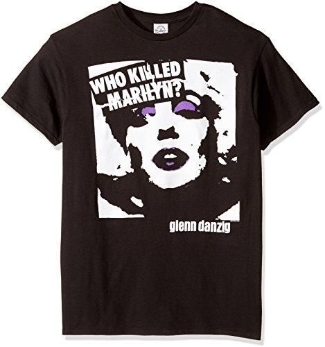 FEA Men's Danzig Marilyn Regular T-Shirt, Black, X-Large ()