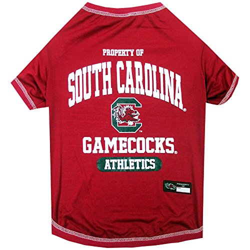 NCAA South Carolina Gamecocks Dog T-Shirt, ()