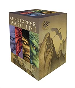 inheritance cycle 4 book trade paperback boxed set eragon eldest brisingr in. Black Bedroom Furniture Sets. Home Design Ideas