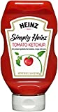 Heinz Simply Tomato Ketchup, 20 Ounce (Pack of 12)