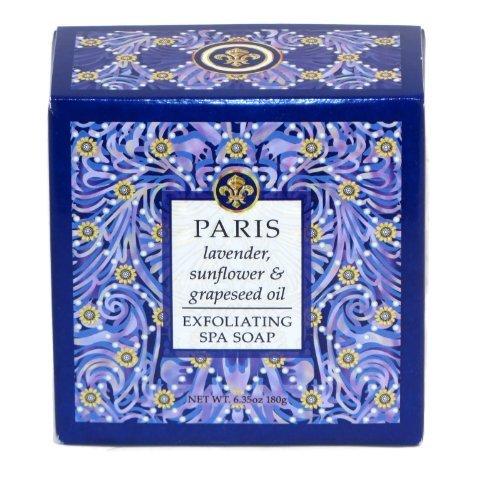 (Lavender Bath Soap Natural Shea Butter Triple Milled Greenwich Bay Trading Co. Desitnation Spa Paris Collection 6.35 oz)