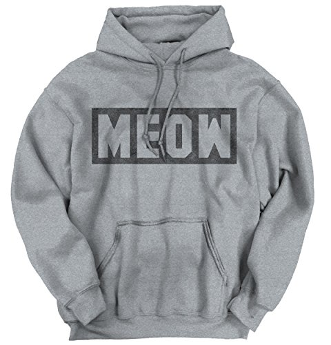 Meow Cat Fashion Pop Culture Meph Saying Funny Gift Ideas Hoodie