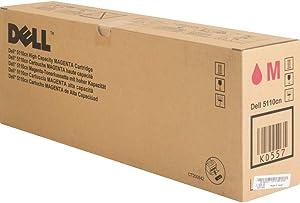 Dell Compatible 5110CN Magenta High Capacity Toner Cartridge (12000 Page Yield) (KD557)