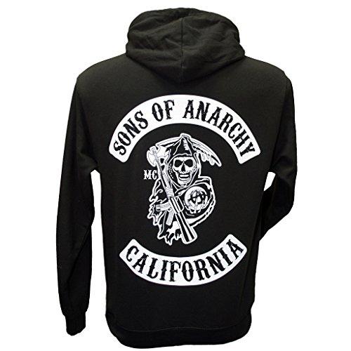 Sons Of Anarchy Custom Charter Deluxe ZIP STYLE Hoodie: Amazon.de:  Bekleidung