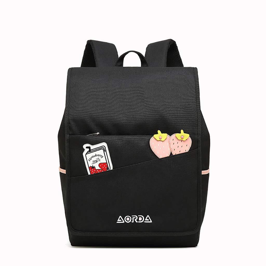 アルパインパック バックパックのハンドバッグ防水バックパックの旅行の三次元の学校のバッグ28 * 15 * 38.5CM (色 : A)  A B07MGLX1WL
