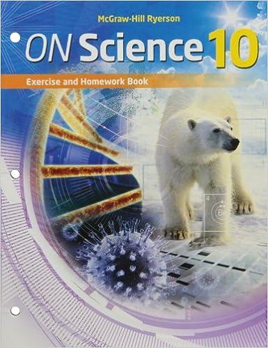 mcgraw hill ryerson science 10 answers key