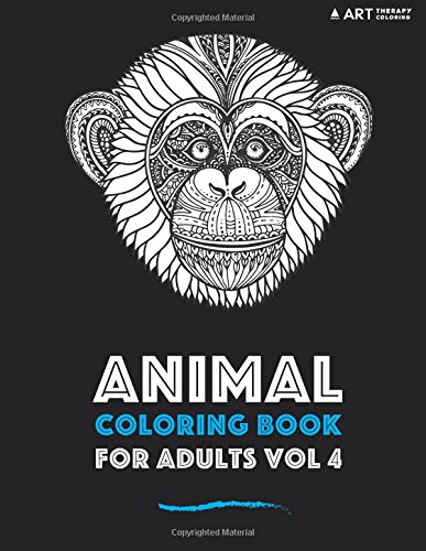 Animal Coloring Book For Adults Vol 4 (Volume 4)