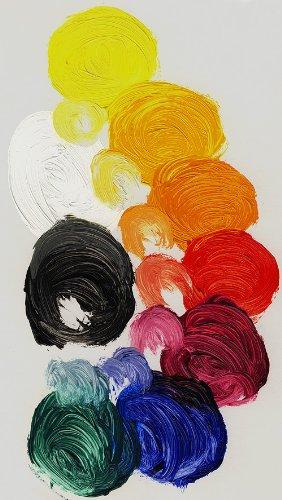 Gamblin Oil Colors Set- Impressionist Palette (Nine 37ml (Gamblin Flake White Replacement)