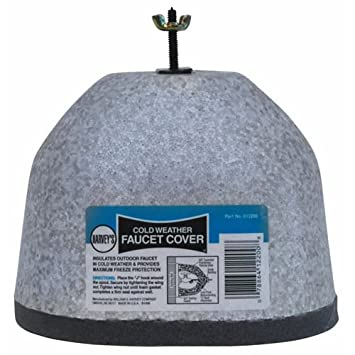 Insulated Outside Faucet Cover - Bathtub And Showerhead Faucet ...