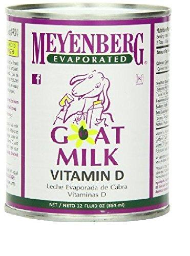 Meyenberg Evaporated Goat Milk - MEYENBERG GOAT MILK LIQ EVAPRTD