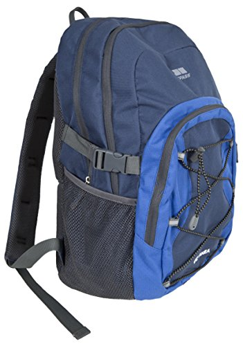 Trespass Albus Mochila, Unisex adulto, Gris (Ash), 30 l azul (elb)