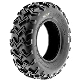 SunF A001 Off-Road ATV/UTV Tire 24x8-12, 6 PR, Directional Tread