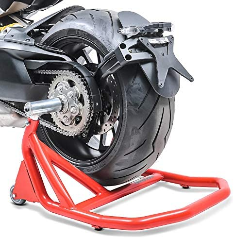Caballete Trasero monobrazo para Ducati Panigale V2 2020 V5 Rojo