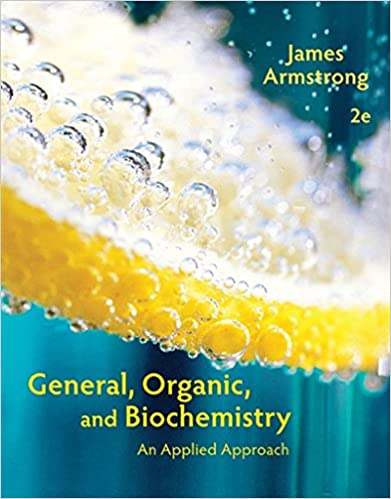 General organic and biochemistry an applied approach james general organic and biochemistry an applied approach 2nd edition fandeluxe Gallery