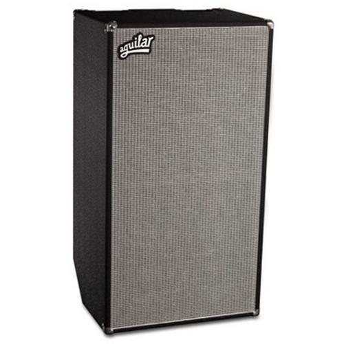 Aguilar DB 810 Bass Cabinet, 4 Ohm, Classic Black (Tilt Back Bass)