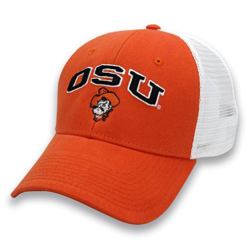 NCAA Oklahoma State Cowboys Adult The Game Everyday Trucker Mesh Hat, Adjustable, Orange - Oklahoma State Game