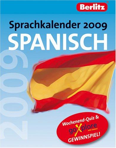 berlitz-sprachkalender-2009-spanisch-kalender-spass-mit-spanisch-tag-fr-tag