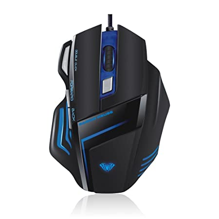 Aula Ghost Shark SI-989 Gaming Mouse (Black) <span at amazon