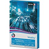Xerox Ledger Size Vitality Business 4200 Multipurpose Copy Laser Inkjet Printer Paper, 11 x 17 Inch, 20 lb Density, 92 Bright White, ColorLok, Acid Free, Ream, 500 Total Sheets (3R3761-RM)