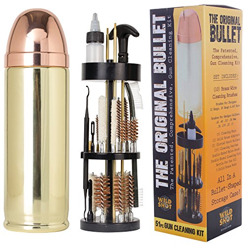 Bullet-Shaped Gun Cleaning Kit made our list of Over 100 Ideas For This Holiday Season For Christmas Gifts For Campers And RV Owners!