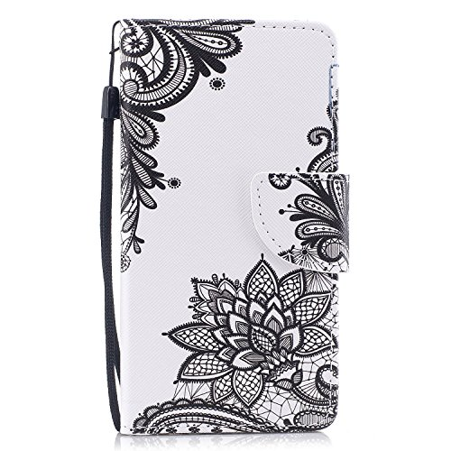 Chamilia Apple - iphone 6 Plus Wallet Cas,Yaheeda [Cartoon Drawing] Premium PU Leather Card-Slots Cash-Slots & Kickstand [Anti-Scratches] [Drop Protection] for Apple iphone 6 Plus / 6S Plus 5.5 inch (Style-2)
