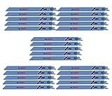 Bosch RM918 (25 Pack) 9-Inch 18T Metal Cutting Reciprocating Saw Blades # RM918B-25PK