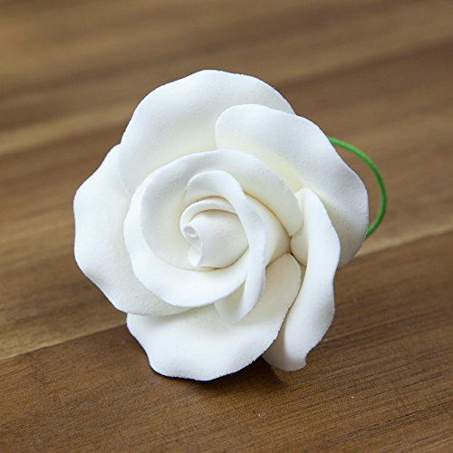 - Rose, Premium White, Unwired, Large 12 Count by Chef Alan Tetreault
