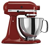 kitchenaid cinnamon red - KitchenAid RRK150GC  5 Qt. Artisan Series - Gloss Cinnamon (Certified Refurbished)