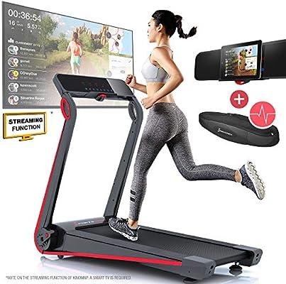 Sportstech F17 cinta de correr, consola futurista, 2.5PS, 12 km/h ...