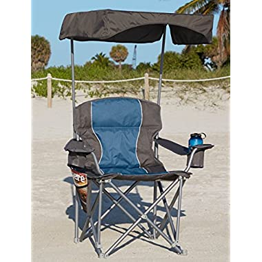 Canopy for Oversize Portable Chairs (Grey)