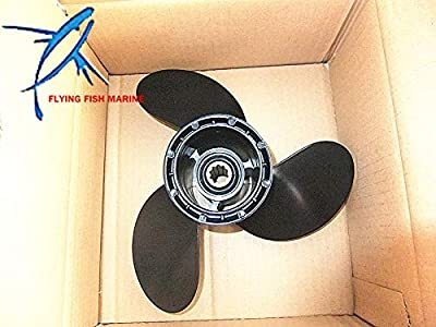 Boat Parts & Accessories 10 1/4X10 K Aluminum Propeller Or Suzuki 25Hp 30Hp Dt25 Dt30 Outboard Motor