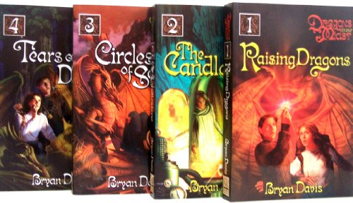 Raising Dragons/The Candelstone/Circles of Seven/Tears of a Dragon (Dragons in our Midst, 1 through 4)
