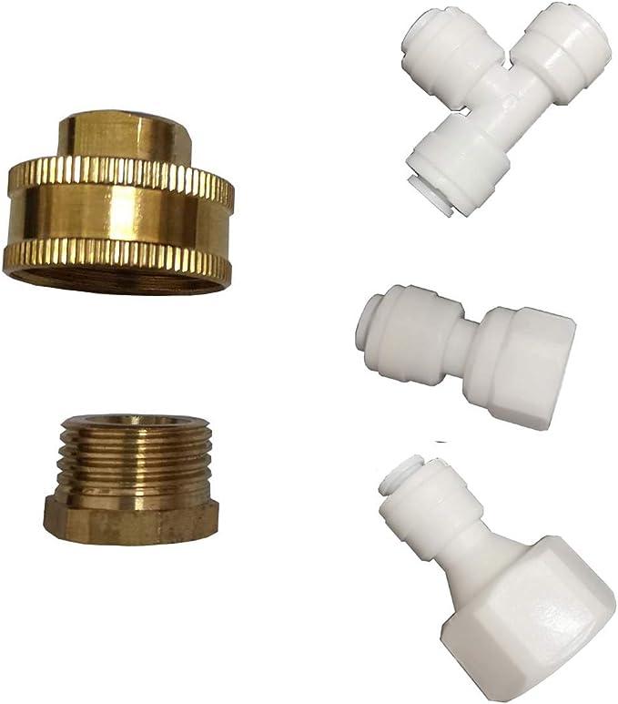 "Amazon.com: YZM 1/4"" Liquid Filled Pressure Gauge Water Pressure Gauge. (1/4,1/2,3/4 Adapter): Home Improvement"