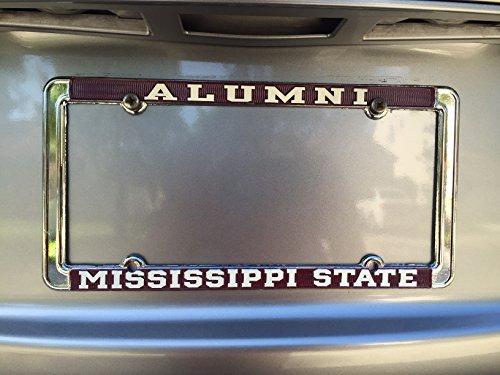 Mississippi State University License Plate Frame - Alumni (State University Alumni Mississippi)
