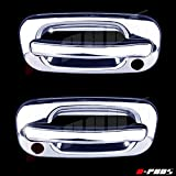 chevy door handle chrome - A-PADS 2 Chrome Door Handle Covers for Chevy TAHOE / SILVERADO /SUBURBAN 2000-2006 & GMC SIERRA 1999-2006 / YUKON 00-06 - WITH Passenger Keyhole
