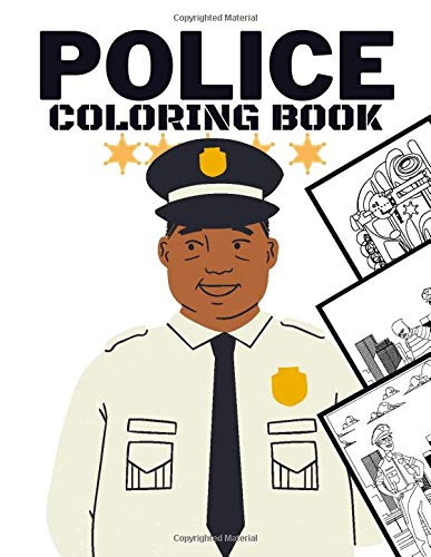 Police Coloring Book Unique Kids Colouring Pages With Police Designs Policemen Police Cars Police Officers And Much More Sax Sara 9798692980496 Amazon Com Books
