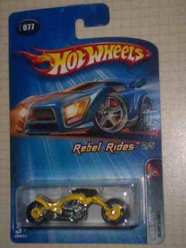 Lane Blast - Hot Wheels 2005 Rebel Rides Series 2 Blast Lane (Motorcycle) 2005-77, Yellow