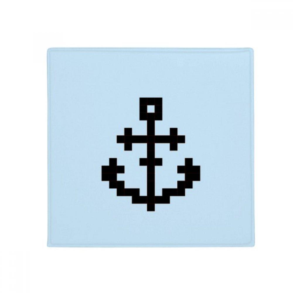 DIYthinker Summer Sail Sailors Ship Pixel Anti-Slip Floor Pet Mat Square Home Kitchen Door 80Cm Gift