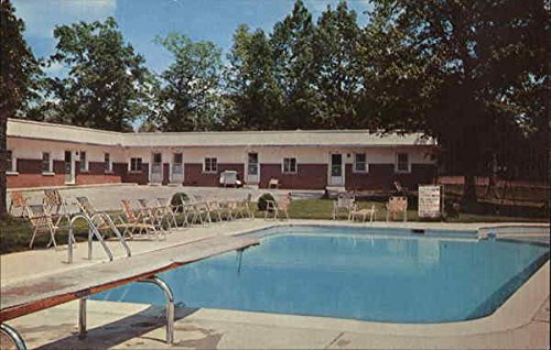 Southern Motel And Restaurant Cookeville Tennessee Original Vintage