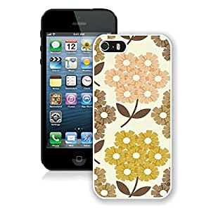 Beautiful Designed Case With Orla Kiely (2) White For iPhone 5S Phone Case