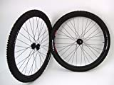 29 inch 29er WTB Speed Disc All Mountain Rims with WTB Prowler SL 29 x 2.10 Tires Tubes and Sealed Bearing Disc Brake Hubs