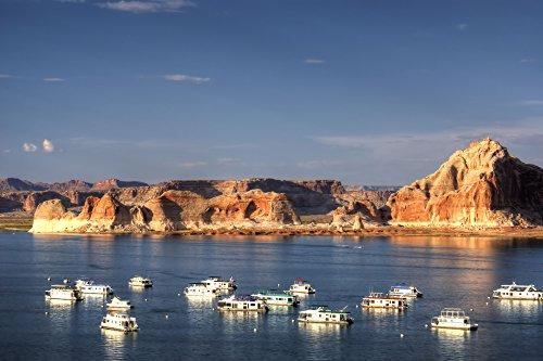 Arizona: Houseboats on Lake Powell