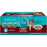 Purina One True Instinct Recipes Wet Cat Food Variety Pack – (2 Packs Of 12) 3 Oz. Cans