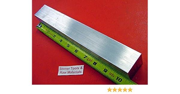 "2 Pieces 1-1//4/"" X 3/"" ALUMINUM 6061 FLAT BAR 10.5/"" long Solid 1.250/"" Mill Stock"