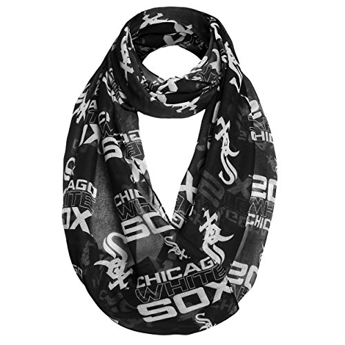 Chicago White Sox 2016 Team Logo Infinity Scarf