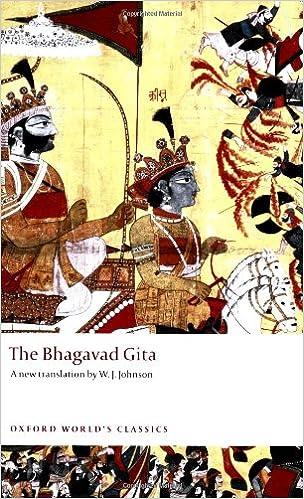 The Bhagavad Gita: W  J  Johnson: 9780199538126: Books - Amazon ca