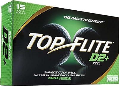 2014 Top Flite D2+ Feel (15 Pack)